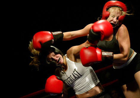 Real girls fighting